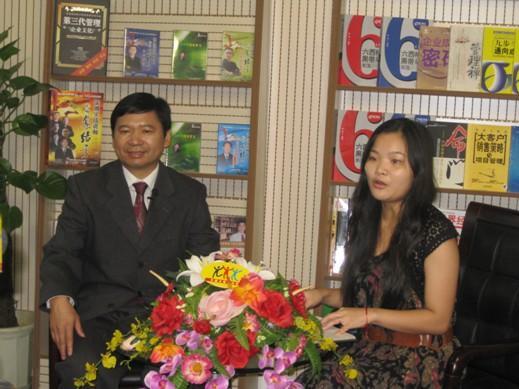 张国祥老师应邀接受中国总裁培训网记者专访