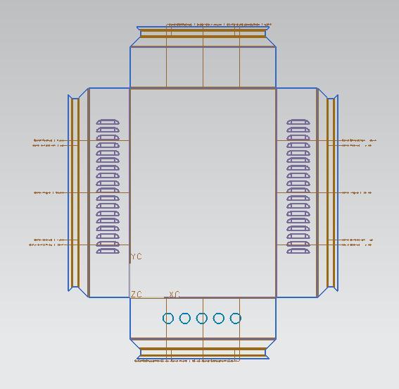 百叶窗设计图纸
